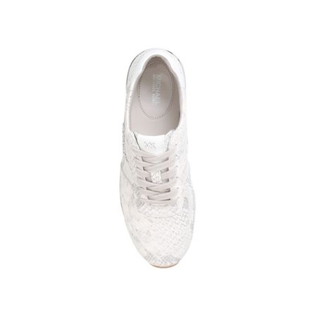 Michael Kors Allie wrap flat lace up sneakers