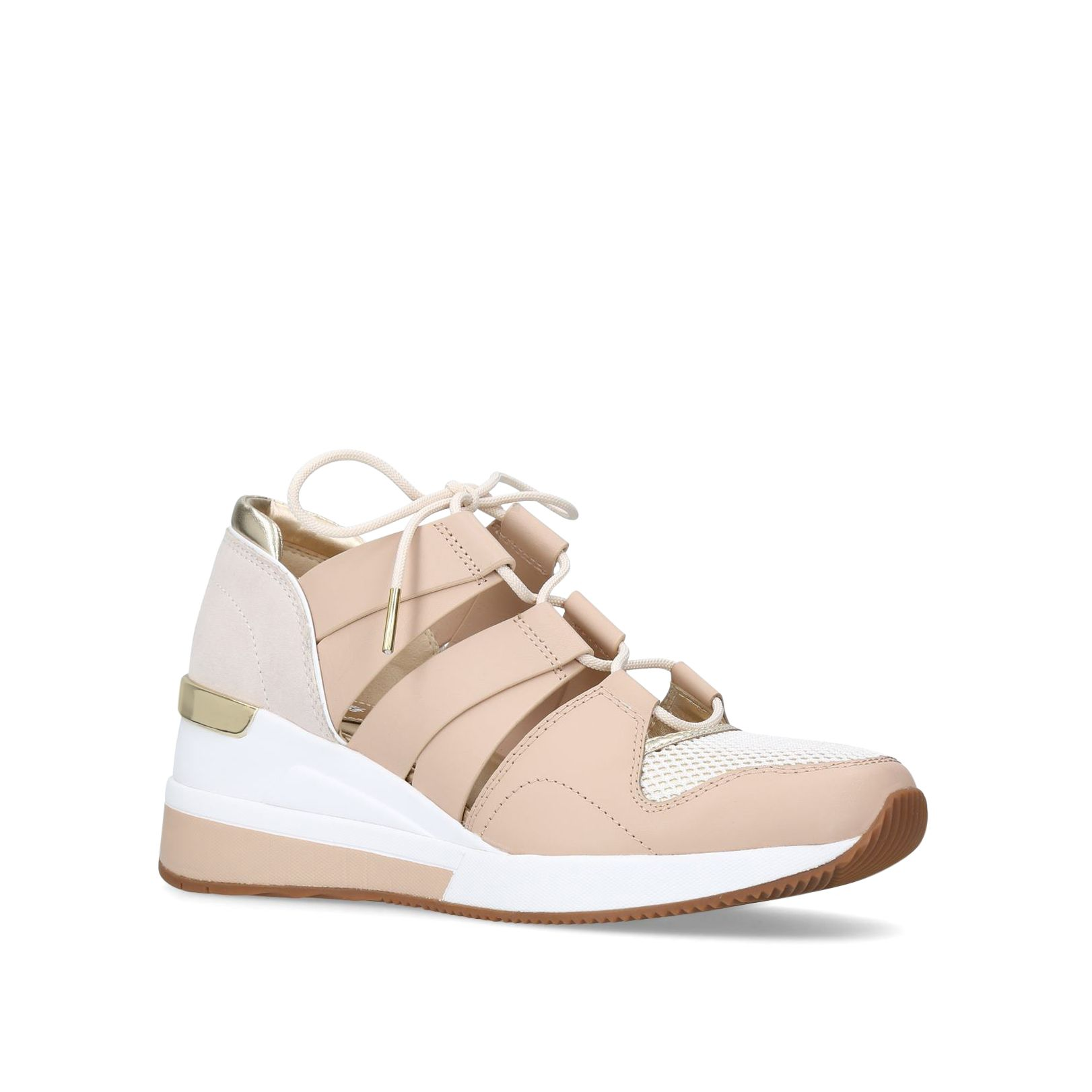 Michael Kors Beckett Trainers, Taupe