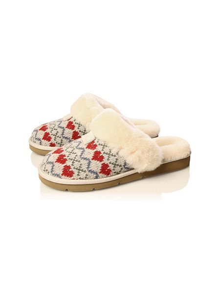 509b3ff6448 Ugg Australia Womens Cozy Knit Heart Slippers Cheap Watches Mgc