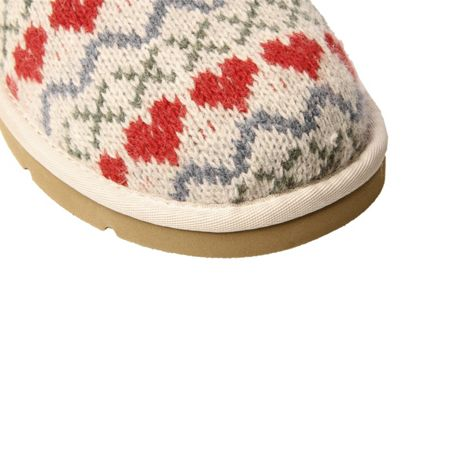 UGG Cozy Knit Heart Slippers