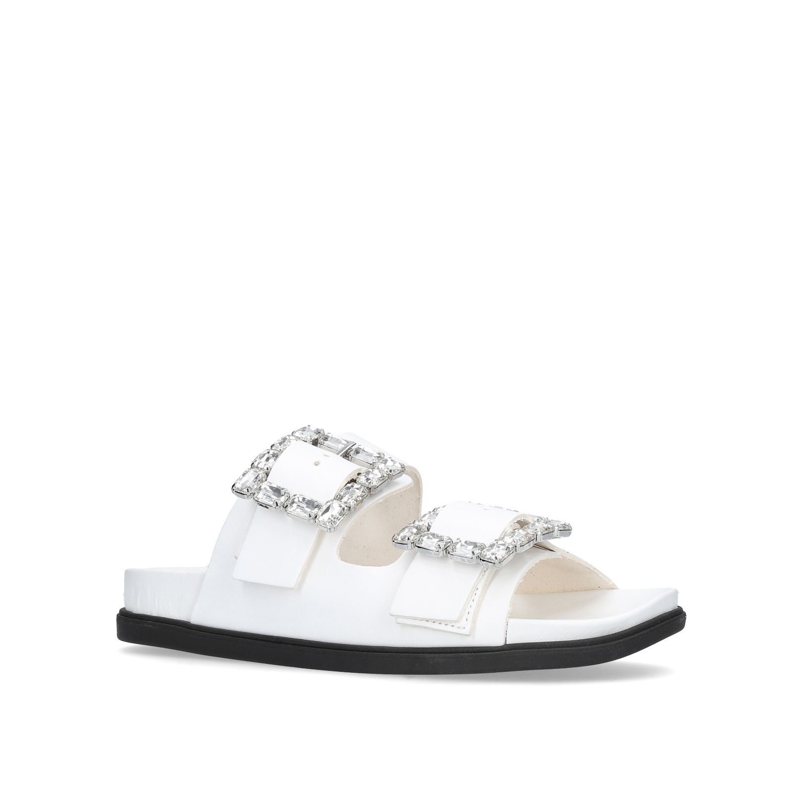 Carvela Mk Flex Mid Pump Courts, White