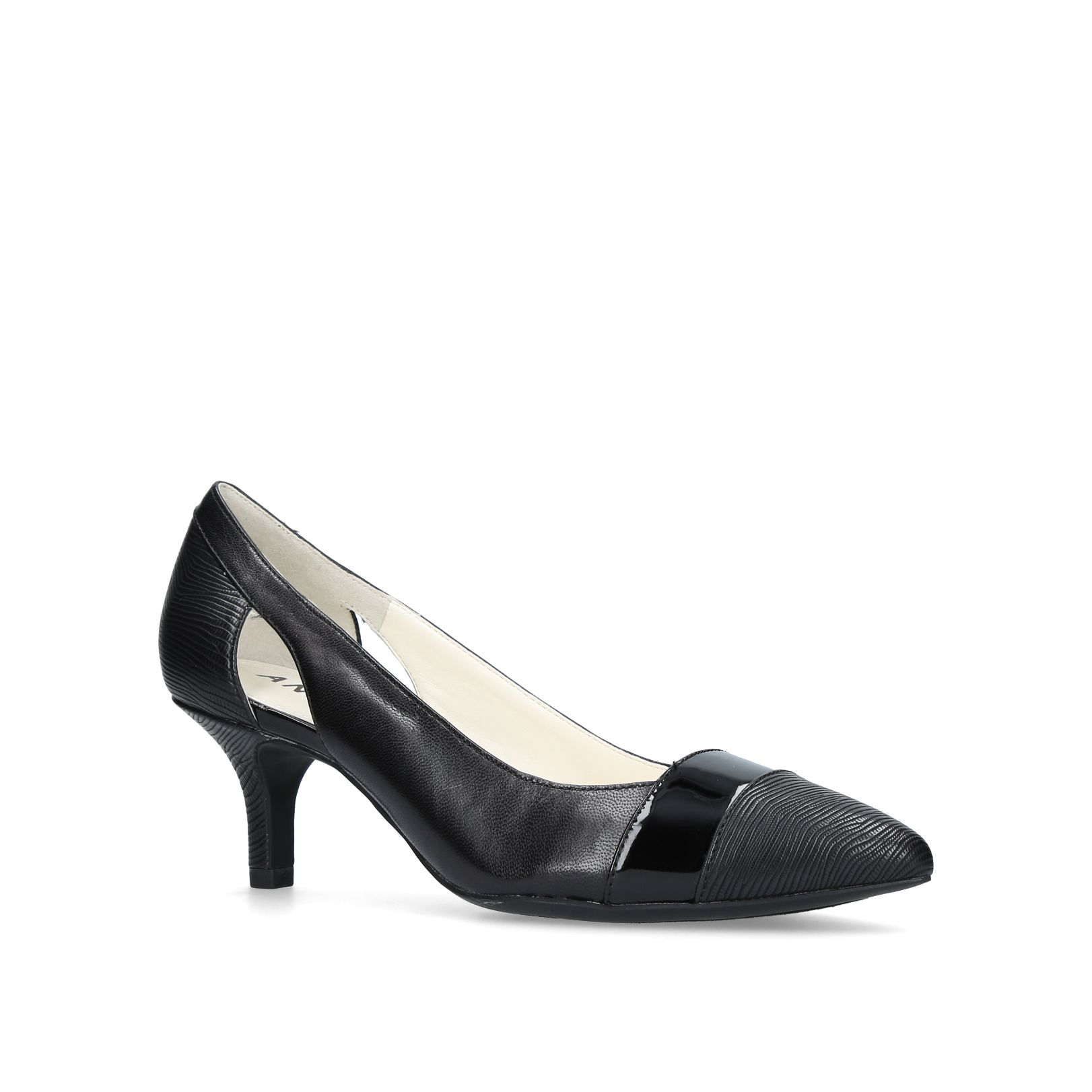 Anne Klein First Class Courts, Black