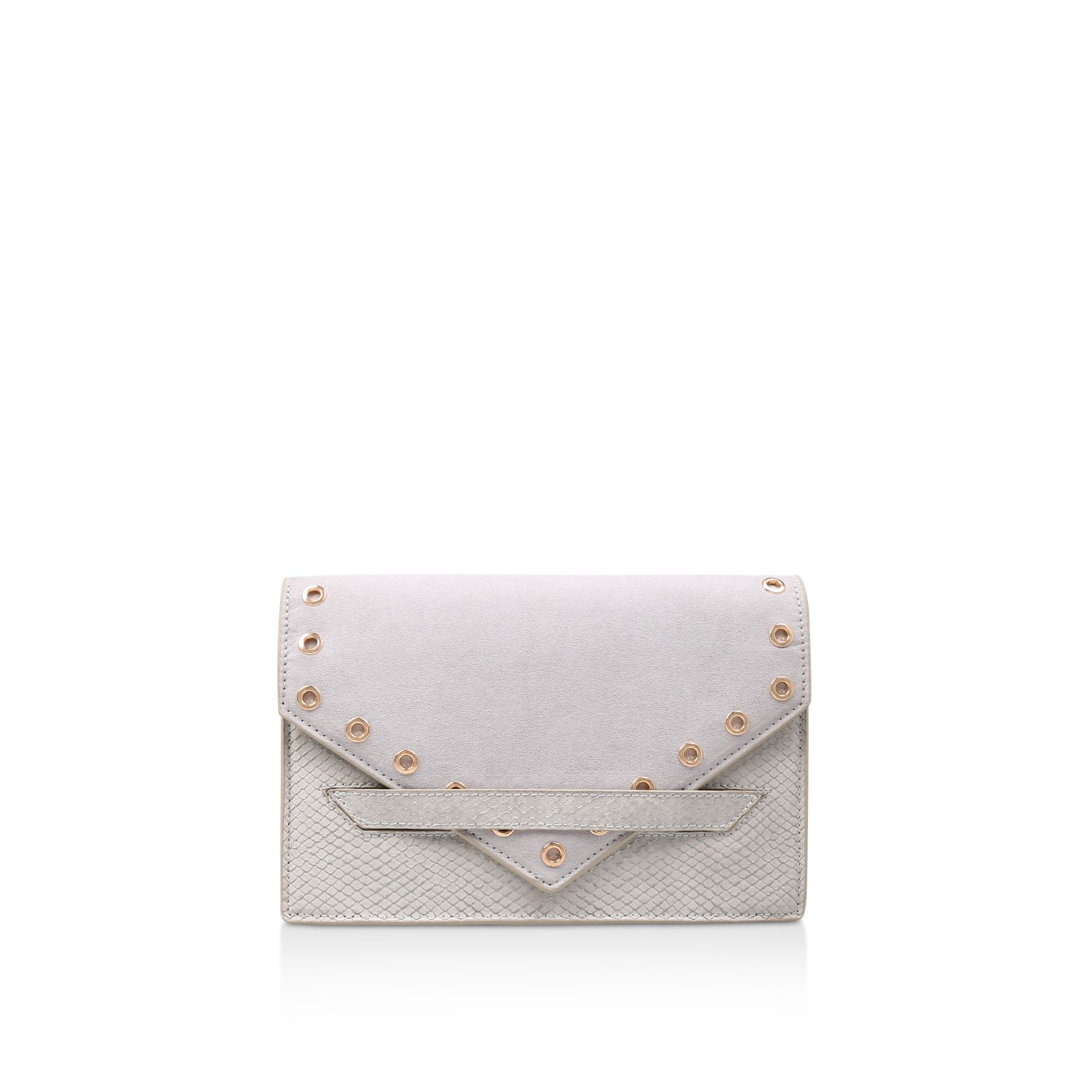Carvela Aron Clutch Bags, Grey