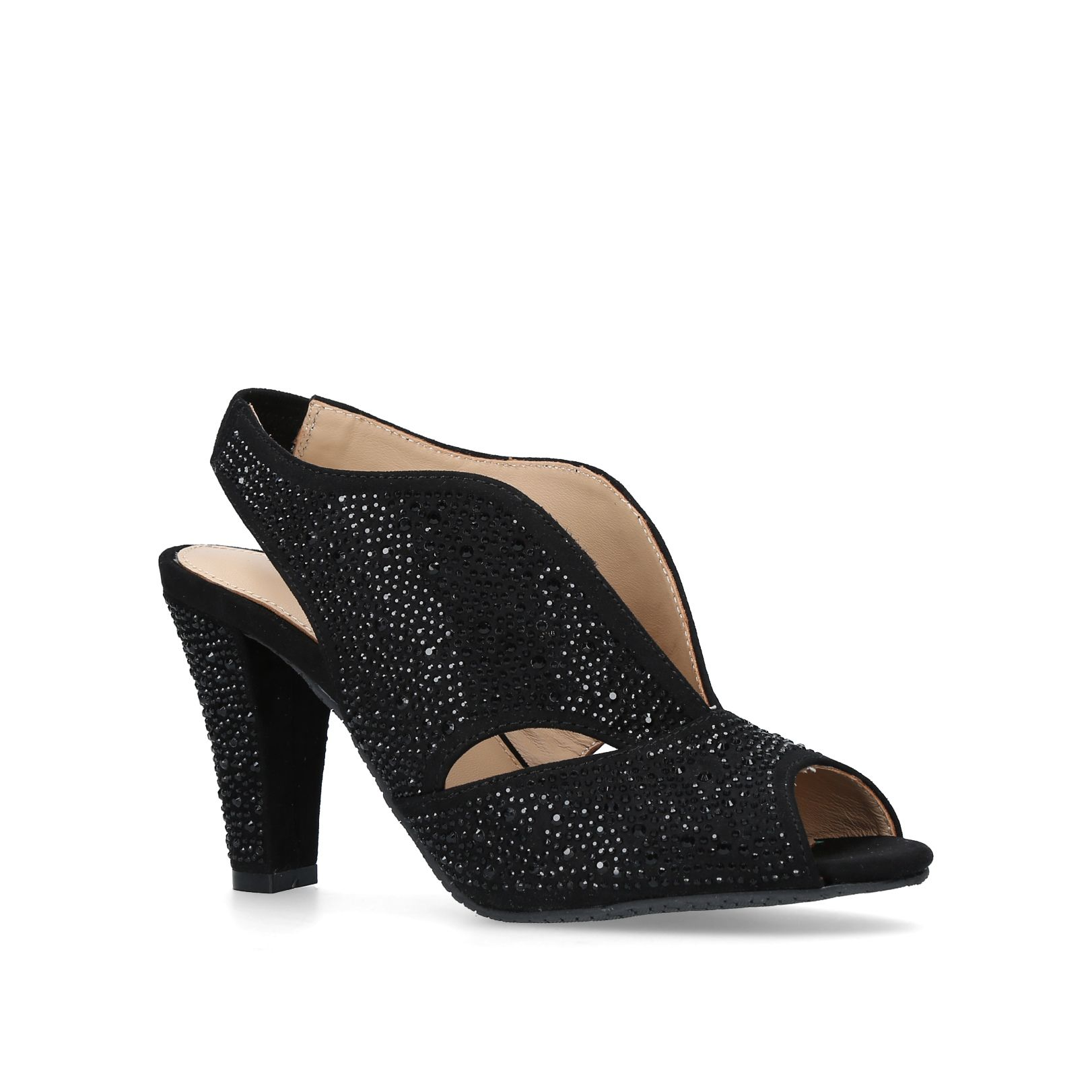 Carvela Comfort Arabella Courts, Black