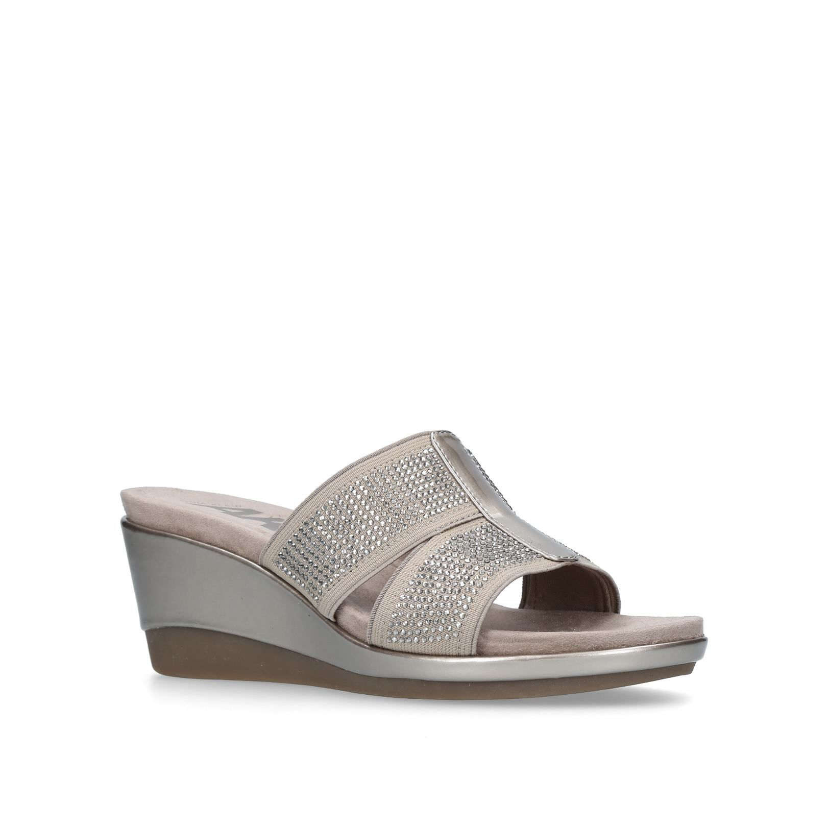 Anne Klein Pallace Mules, Brown