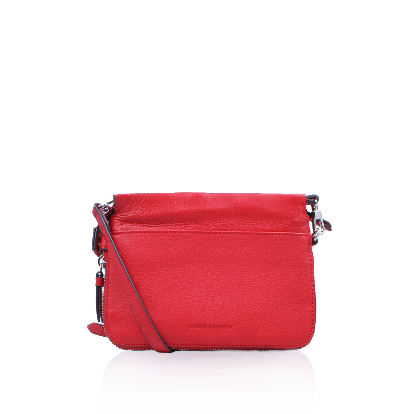 Vince Camuto Edsel Cross Body Bags, Red
