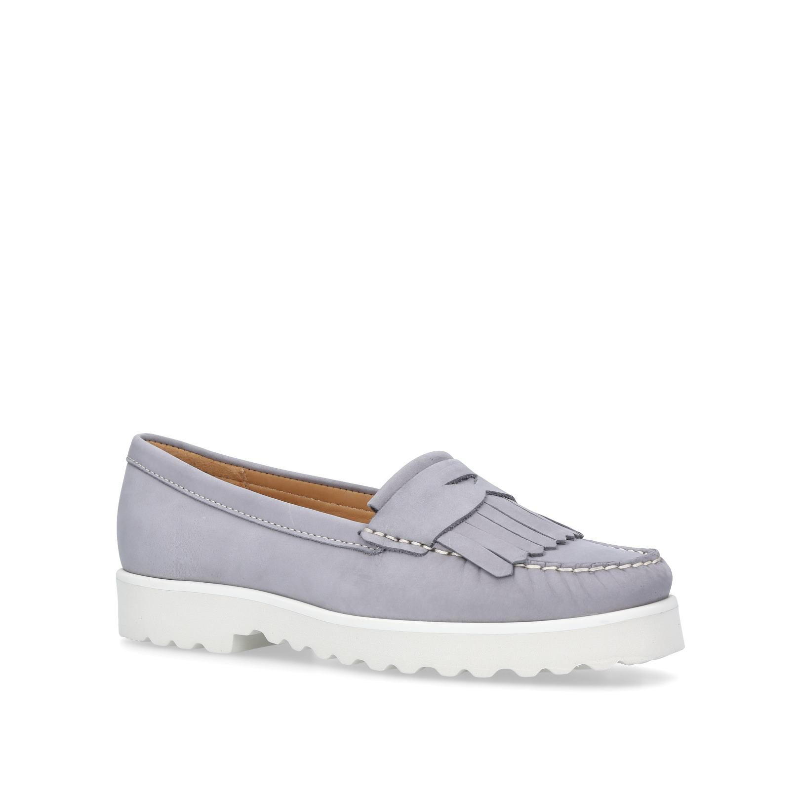 Carvela Comfort Christina Loafers, Grey