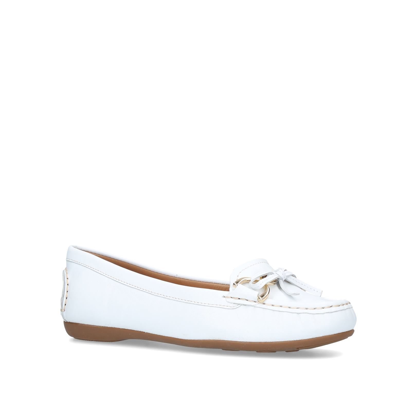 Carvela Comfort Cally Loafers, White