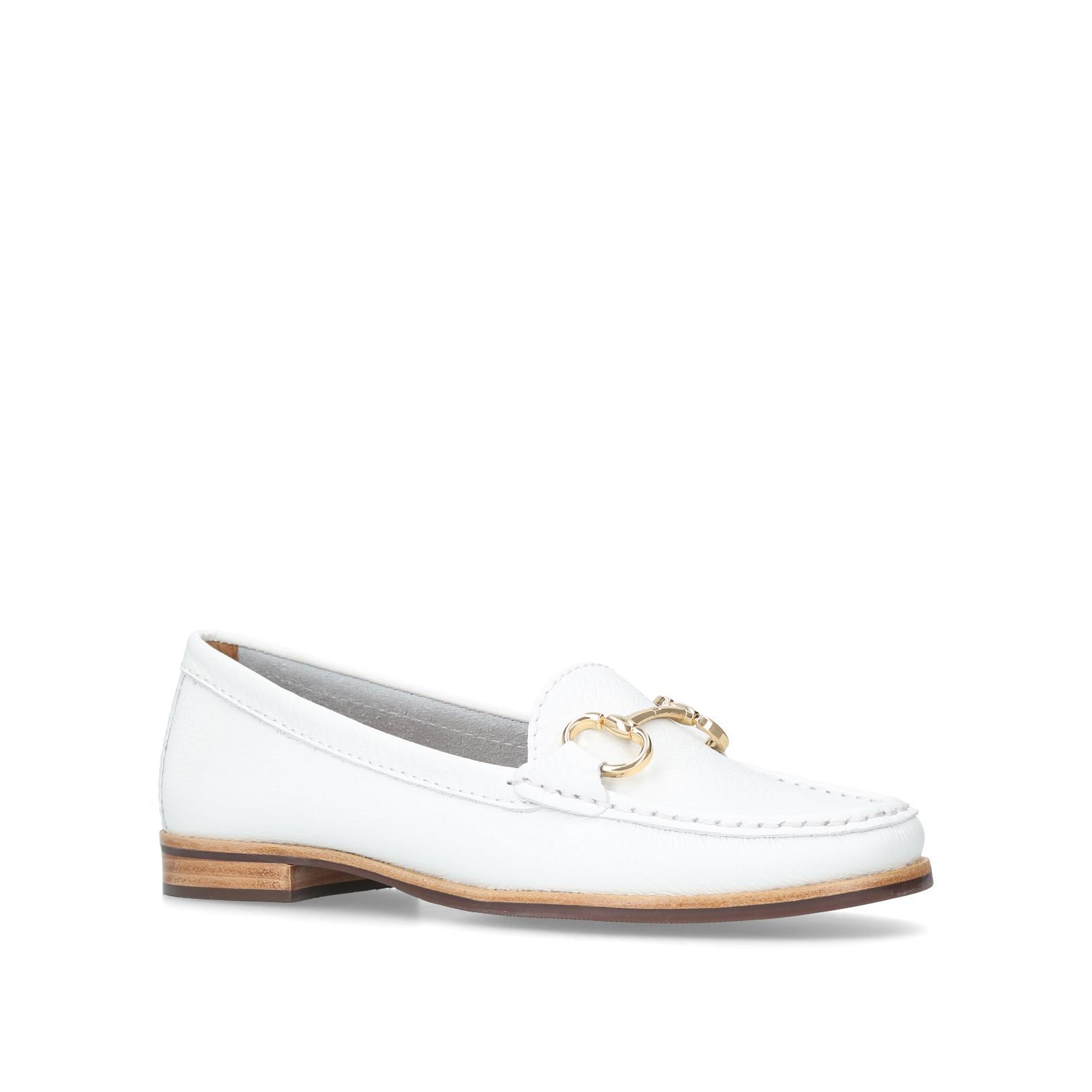 Carvela Comfort Click Loafers, White