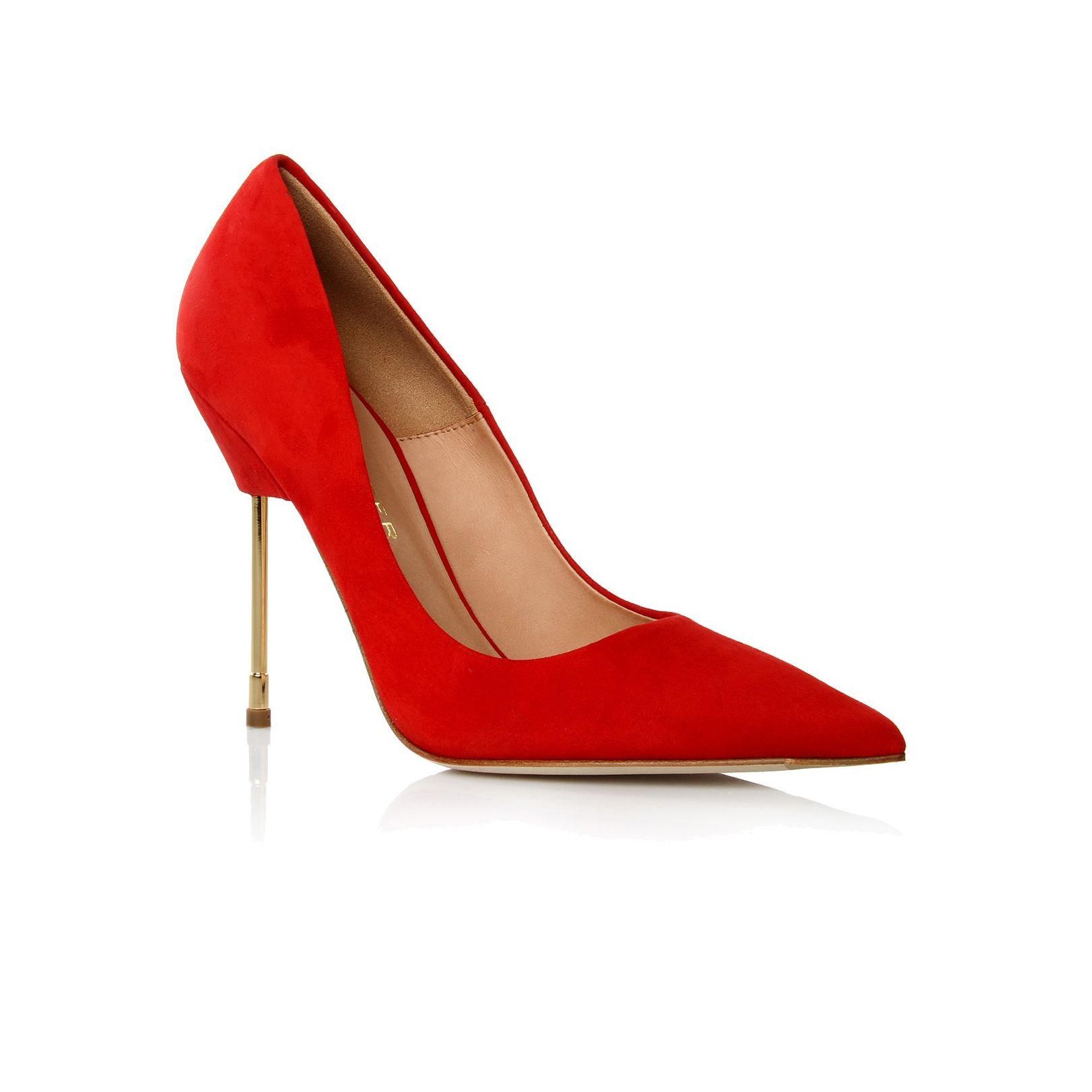 Britton court shoe with stiletto heel