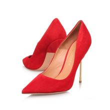 Britton stiletto heel court shoes