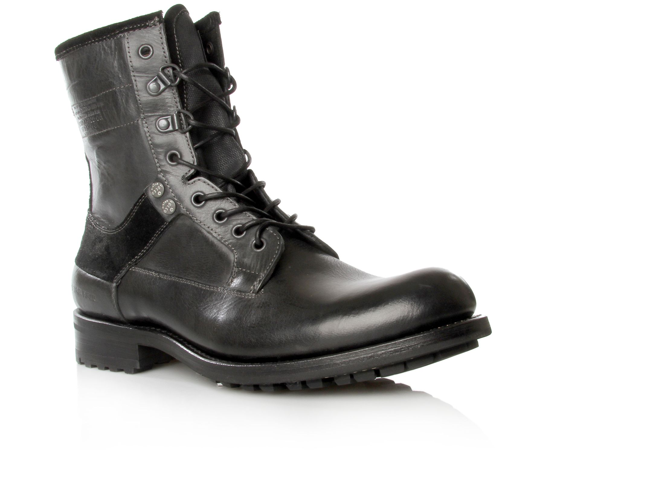 G-star Hook Lace Boots, Black