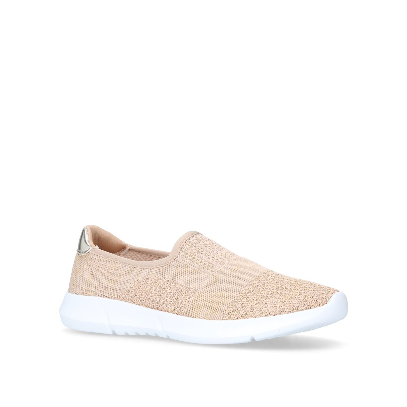 Carvela Comfort Carly Trainers, Gold