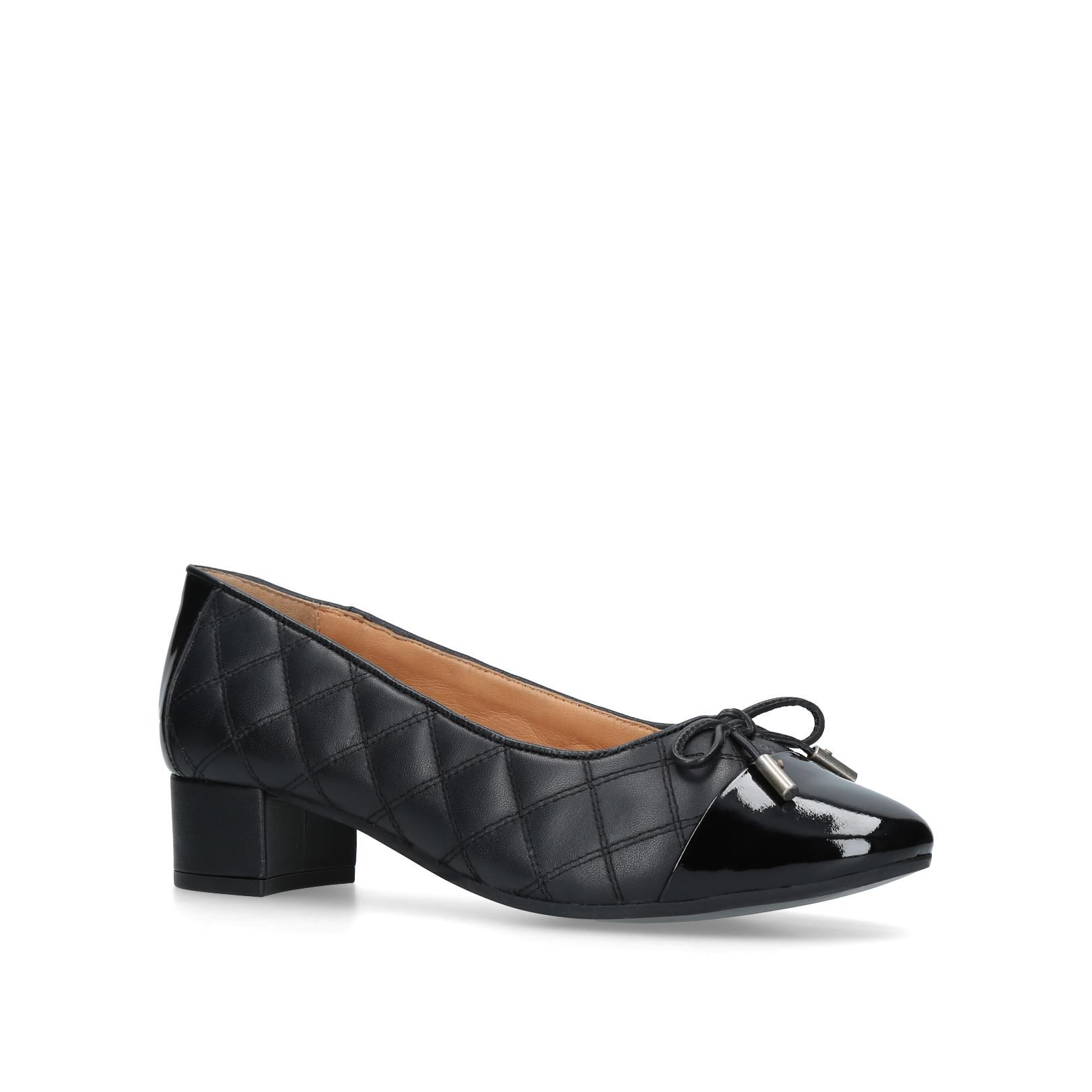 Carvela Comfort Alyssa Courts, Black