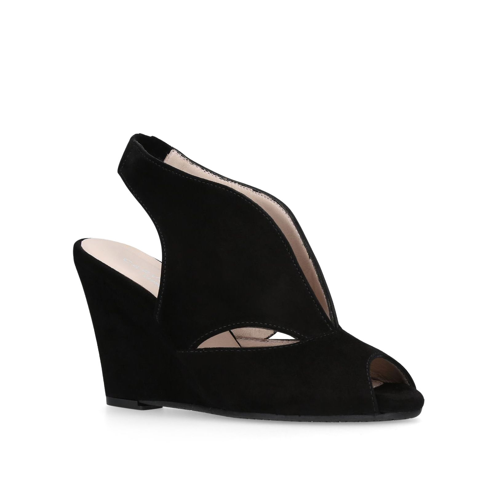 Carvela Comfort Alexa Sandals, Black