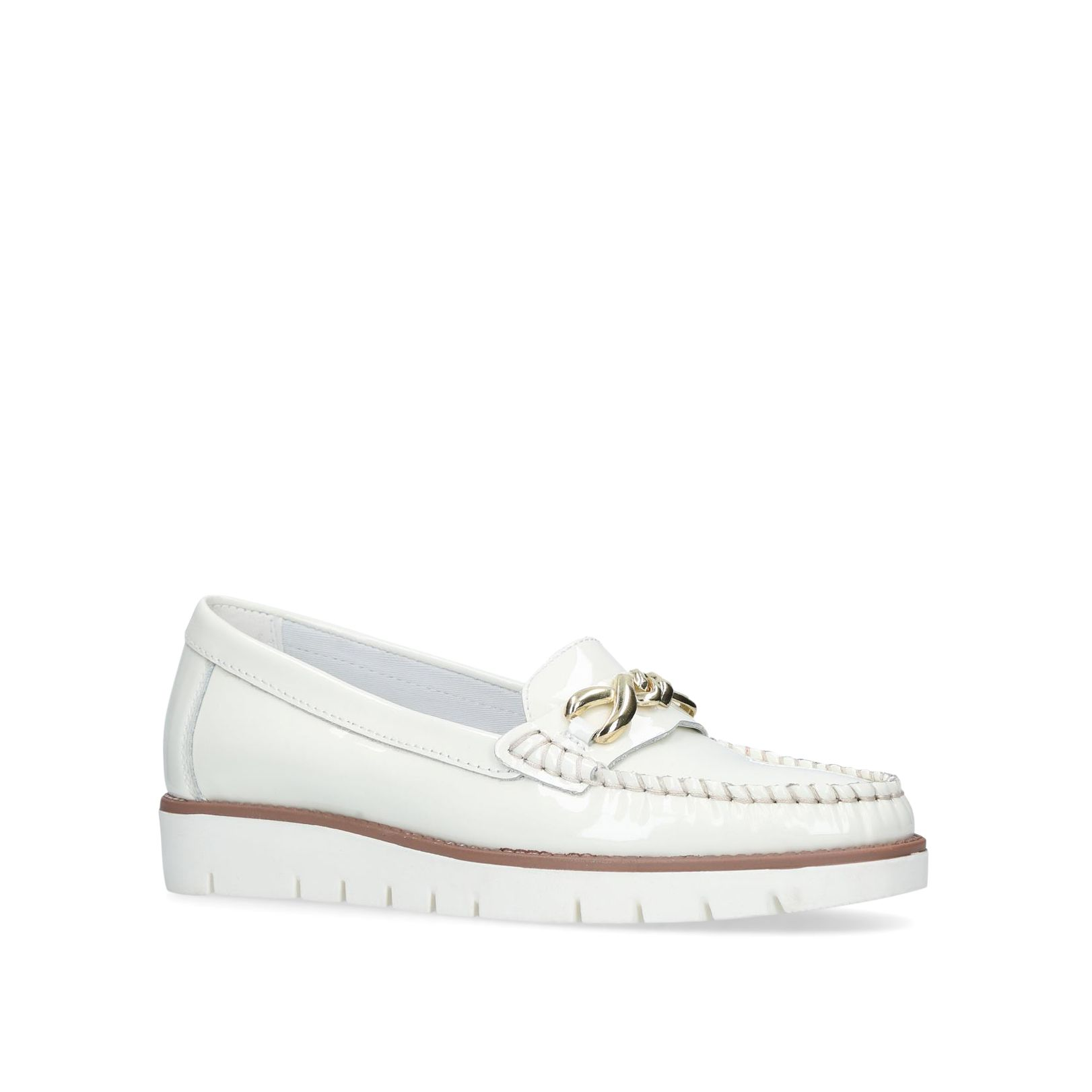Carvela Comfort Casper Loafers, White
