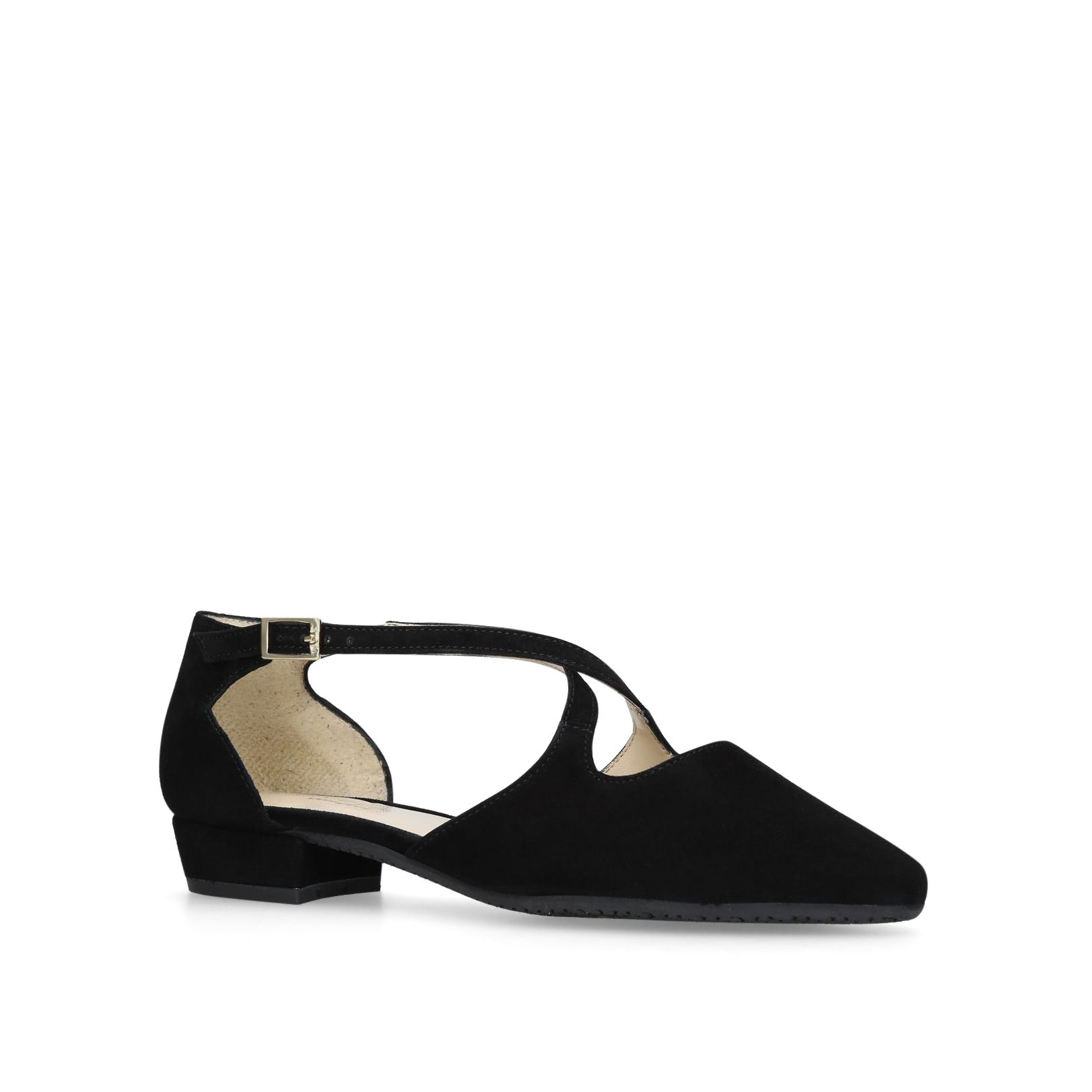 Carvela Comfort Amour Courts, Black