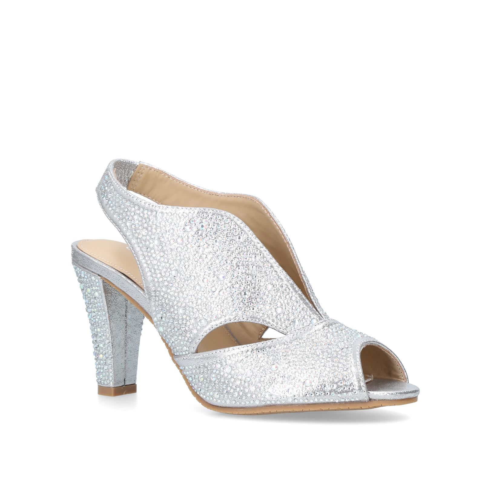 Carvela Comfort Arabella Courts, Gold Silverlic