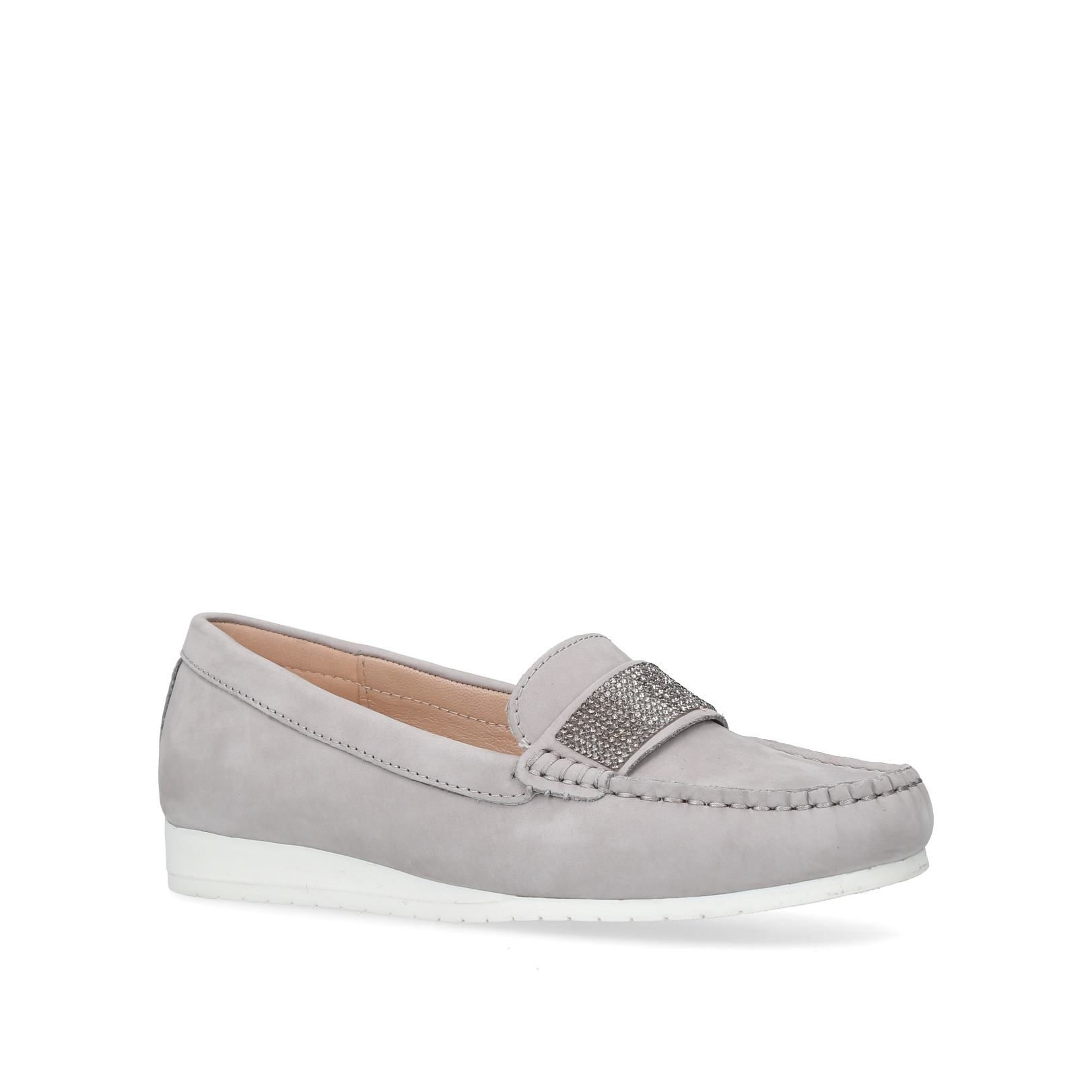 Carvela Comfort Cole Loafers, Grey