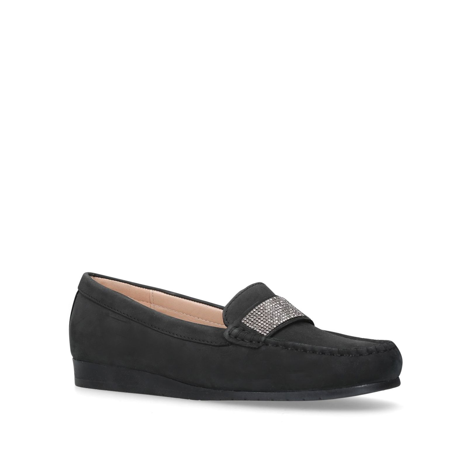 Carvela Comfort Cole Loafers, Black