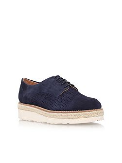 Lucky mid heel lace up shoes
