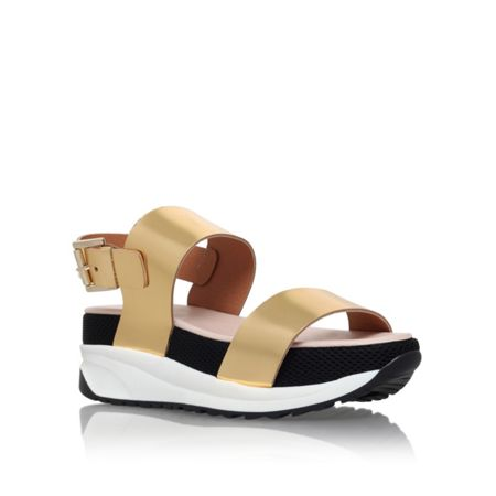 KG Neutron platform sandals