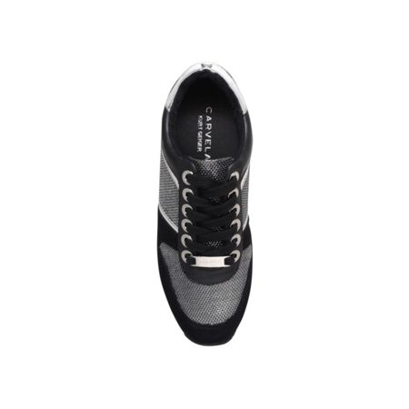 Carvela Lennie flat lace up sneakers