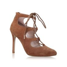 Audrina high heel lace up shoe boots