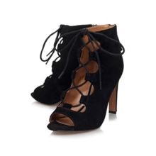 Nine West Unfrgetabl high heel lace up shoe boots