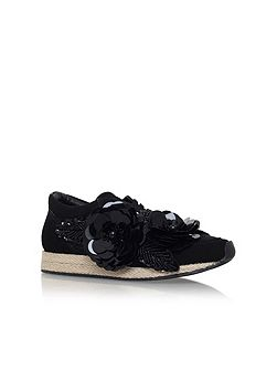 Langham flat lace up sneakers