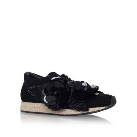 Kurt Geiger Langham flat lace up sneakers