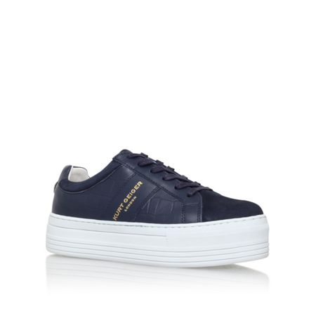 Kurt Geiger Ladbrook low heel lace up sneakers