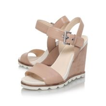 Nine West Gronigen high heel wedge sandals
