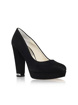 Sabrina pump high heel court shoes