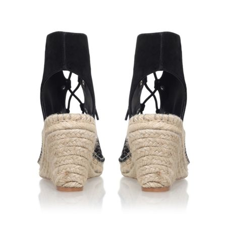 KG Marine lace up wedge sandals