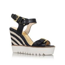 Nine West Aprilshower high wedge heel sandals