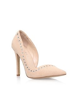 Lacey high heel court shoes