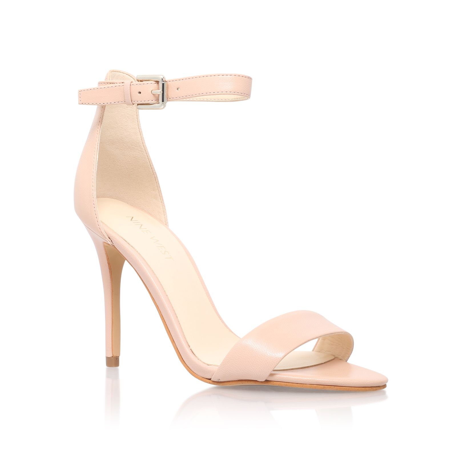 Nine West Nine West Mana high heel sandals, Nude
