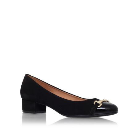 Carvela Comfort Annie low heel court shoes