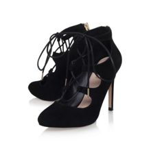 Carvela Audrina high heel lace up shoe boots