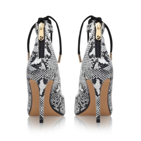 KG Divine high heel lace detail court shoes