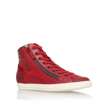 Paul Green Veronica flat lace up trainers