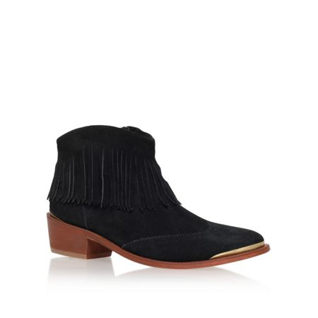 H by Hudson Tala low heel ankle boots
