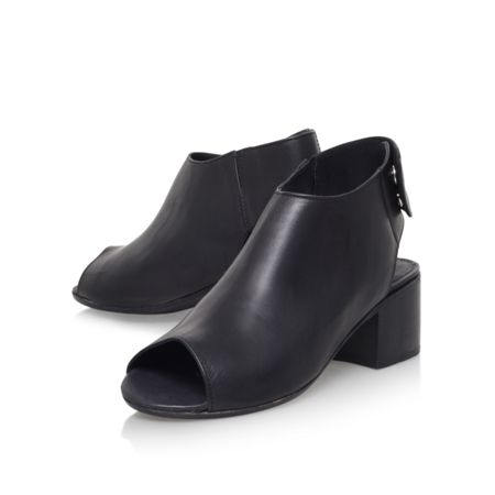 H by Hudson Iris high heel cutaway shoe boots