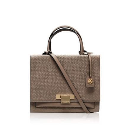 Kurt Geiger London Woven annie tote bag