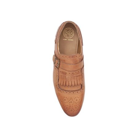 KG Dovercourt buckle up monk shoe