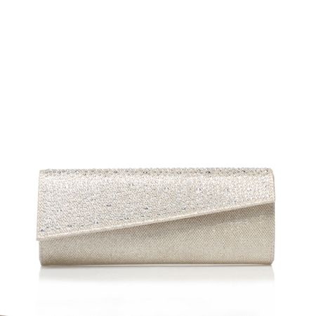 Carvela Dazzle clutch bag
