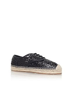 Dinah flat lace up sneakers