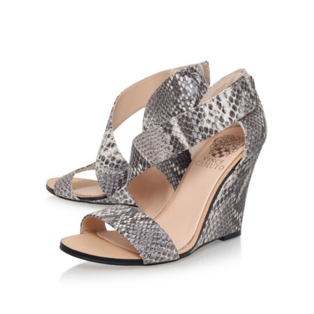 Vince Camuto Katchen high heel wedge sandals