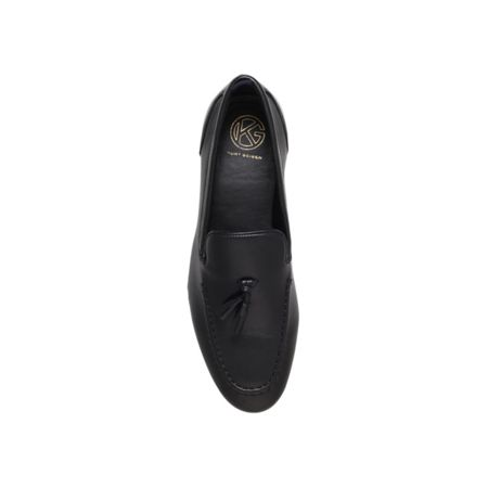 KG Coleman leather tassel detail loafer